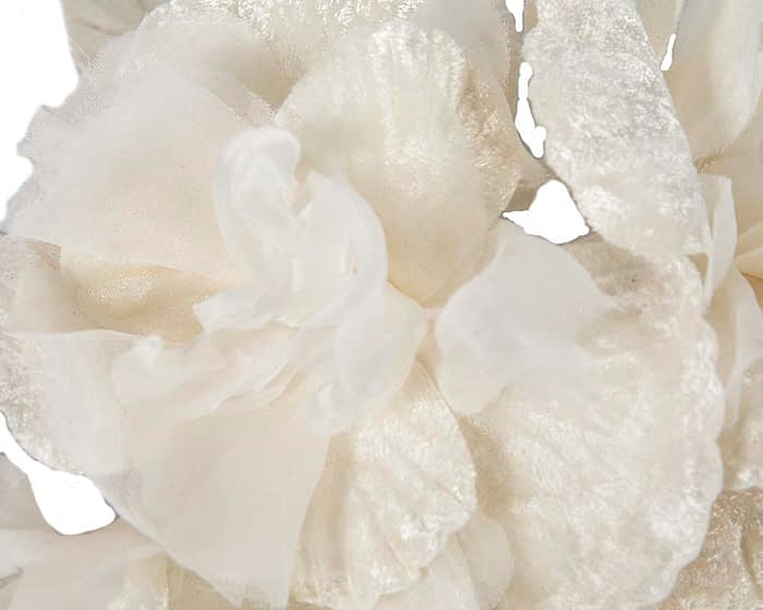 Craft & Millinery Supplies -- Trish Millinery- FL43 cream closeup