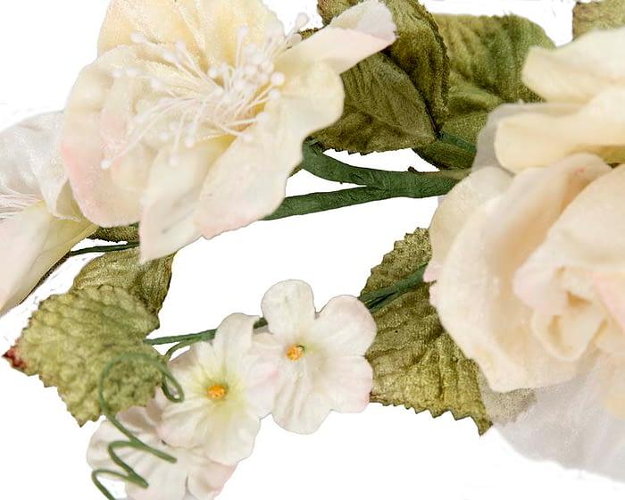 Craft & Millinery Supplies -- Trish Millinery- FL55 cream closeup