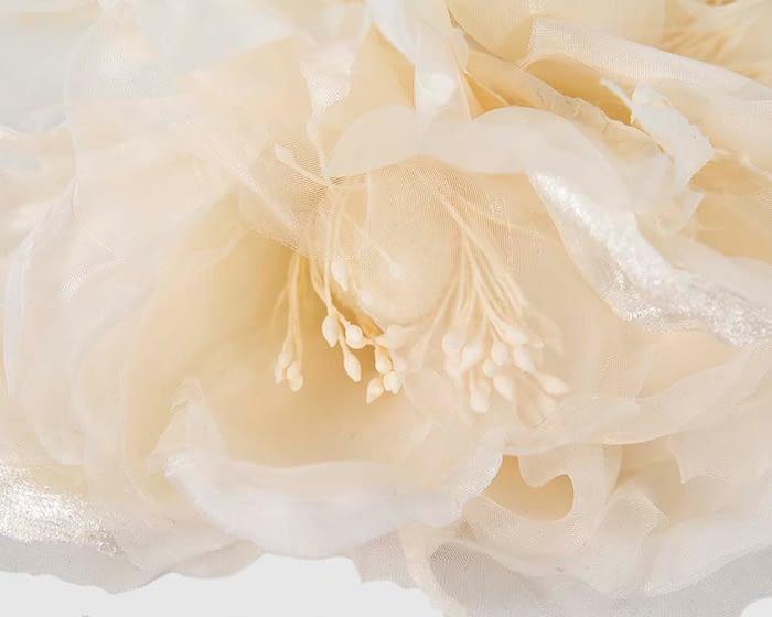 Craft & Millinery Supplies -- Trish Millinery- FL45 cream closeup