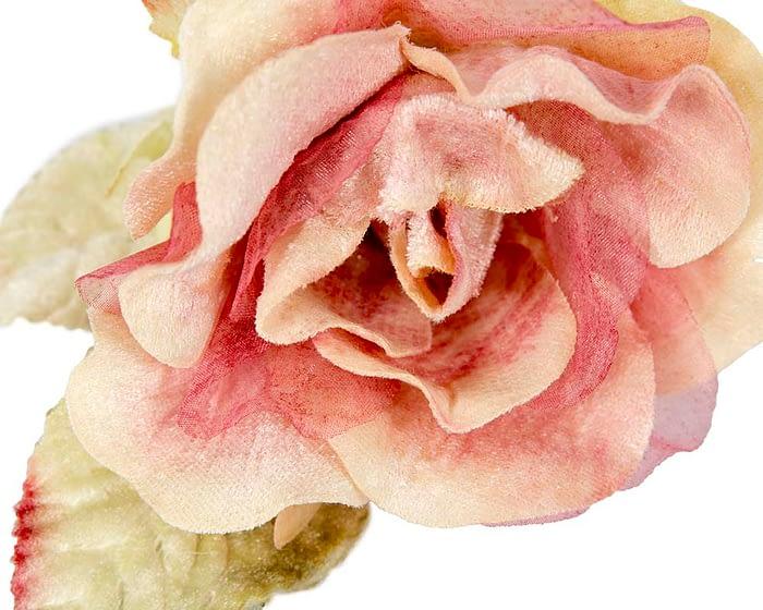 Craft & Millinery Supplies -- Trish Millinery- FL62 pink closeup