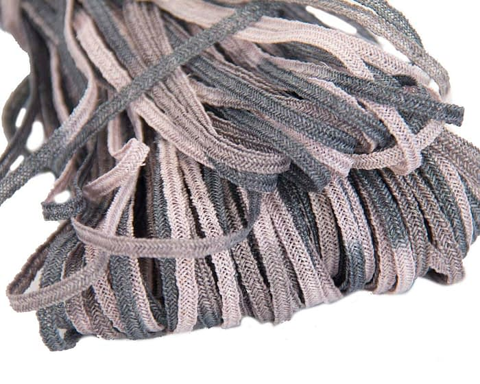 Craft & Millinery Supplies -- Trish Millinery- hemp braid grey