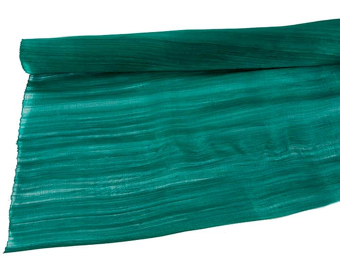 Craft & Millinery Supplies -- Trish Millinery- silk abaca teal