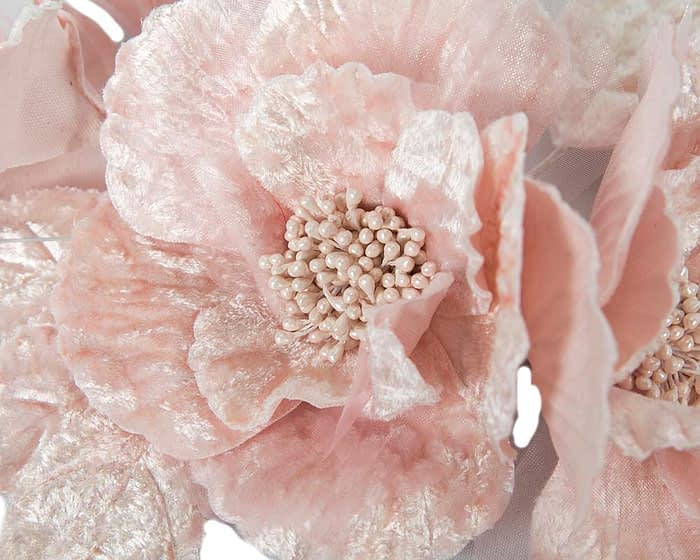 Craft & Millinery Supplies -- Trish Millinery- FL44 pink closeup