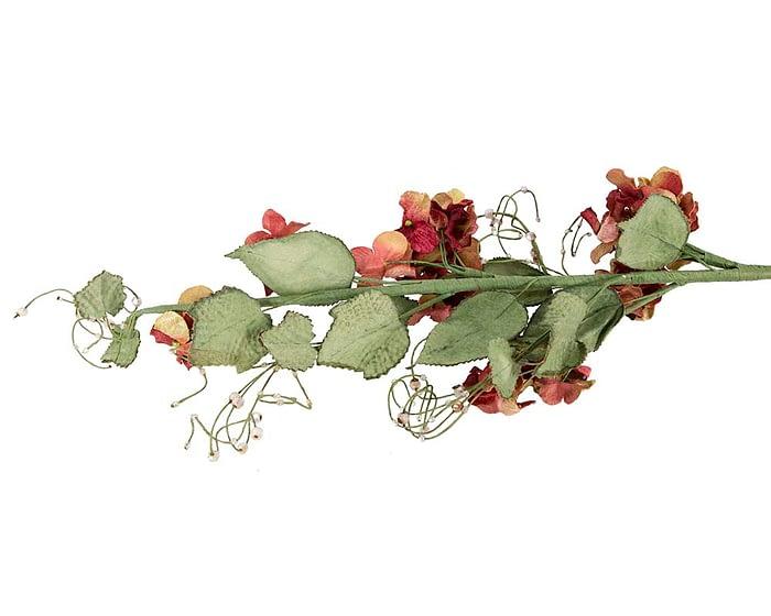 Craft & Millinery Supplies -- Trish Millinery- FL56 burgundy back