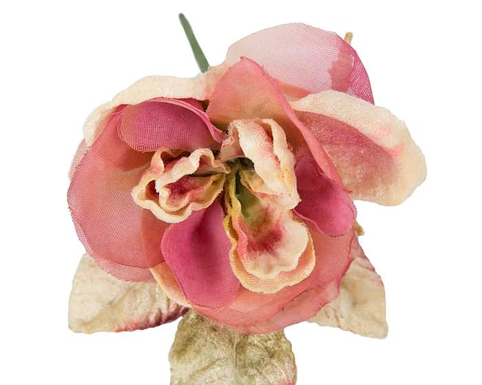 Craft & Millinery Supplies -- Trish Millinery- FL58 pink1