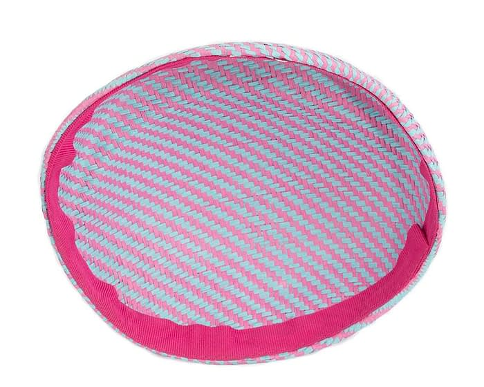 Craft & Millinery Supplies -- Trish Millinery- SH4 aqua hot pink back