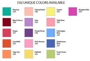 Craft & Millinery Supplies -- Trish Millinery- design master just for flowers sprays colorchart thumb