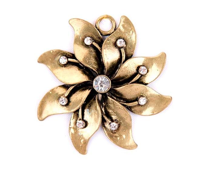 Craft & Millinery Supplies -- Trish Millinery- brass bucke rhinestone millinery fascinators making