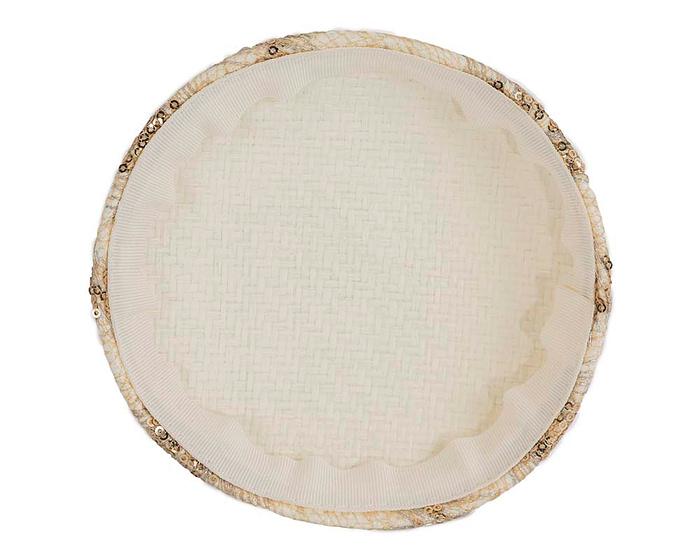 Craft & Millinery Supplies -- Trish Millinery- SH3 cream back