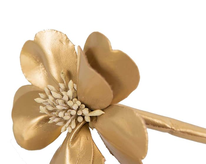 Craft & Millinery Supplies -- Trish Millinery- FL44 gold closeup
