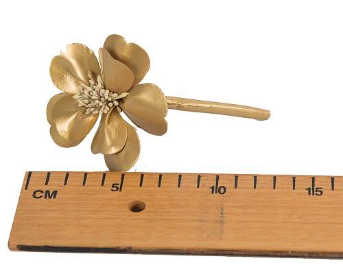 Craft & Millinery Supplies -- Trish Millinery- FL44 gold