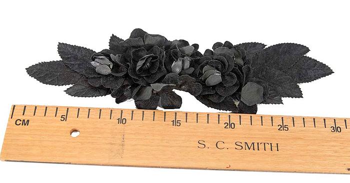 Craft & Millinery Supplies -- Trish Millinery- FL41 black