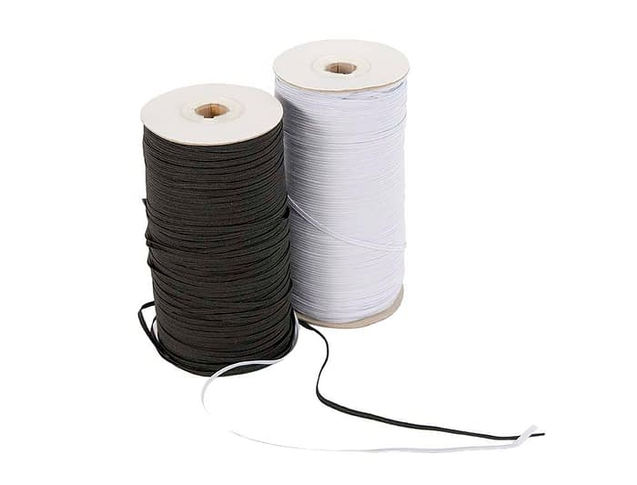 Craft & Millinery Supplies -- Trish Millinery- face mask elastic