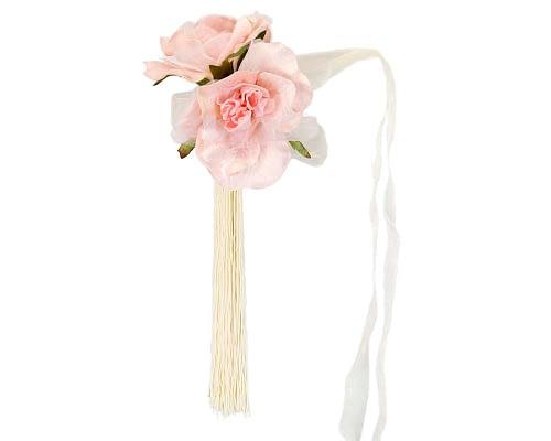 Craft & Millinery Supplies -- Trish Millinery- FL47 pink