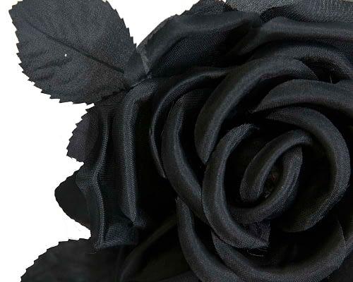 Craft & Millinery Supplies -- Trish Millinery- FL16 black closeup