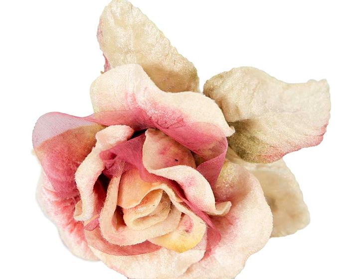 Craft & Millinery Supplies -- Trish Millinery- FL61 pink closeup