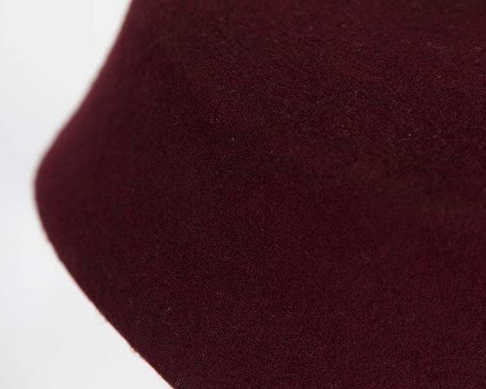 Craft & Millinery Supplies -- Trish Millinery- SH8 wine closeup