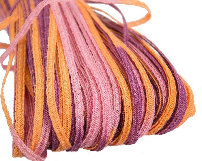 Craft & Millinery Supplies -- Trish Millinery- hemp braid orange