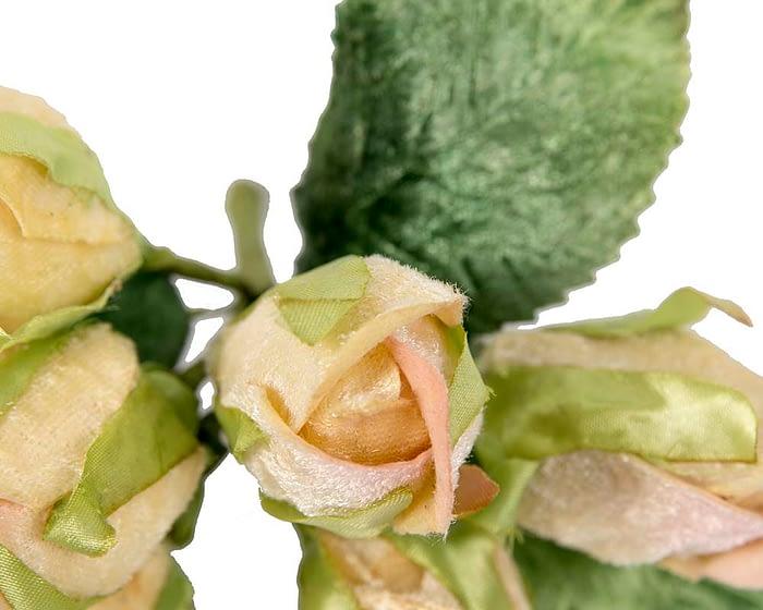 Craft & Millinery Supplies -- Trish Millinery- FL53 cream closeup