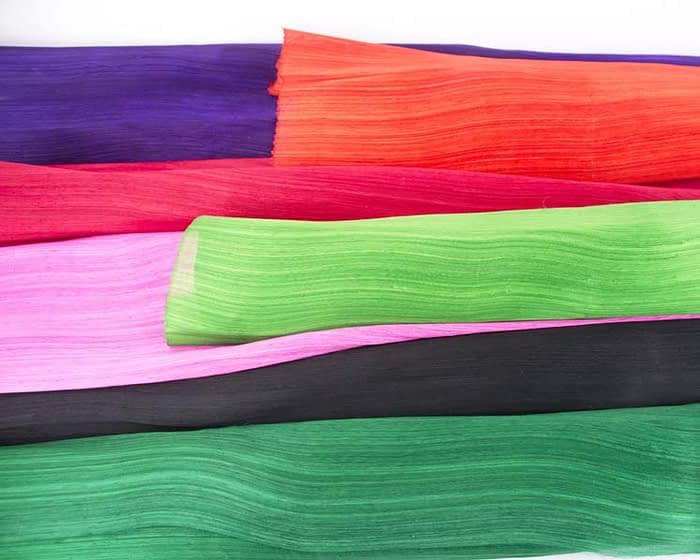Craft & Millinery Supplies -- Trish Millinery- silk abaca