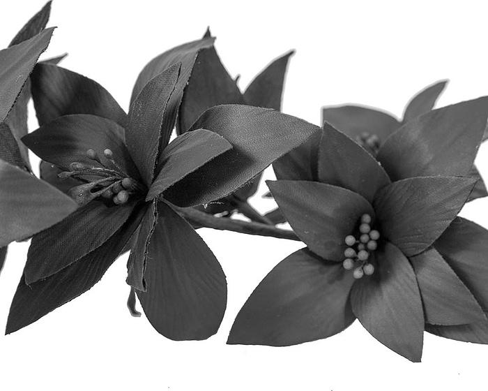 Craft & Millinery Supplies -- Trish Millinery- FL65 black closeup