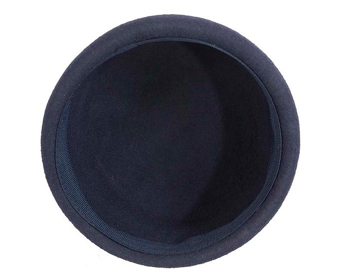 Craft & Millinery Supplies -- Trish Millinery- SH8 navy bottom