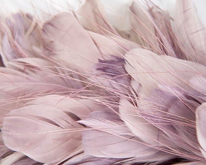 Craft & Millinery Supplies -- Trish Millinery- FTHB7 dusty pink closeup