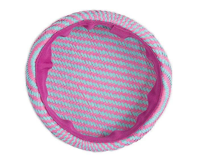 Craft & Millinery Supplies -- Trish Millinery- SH6 aqua hot pink back