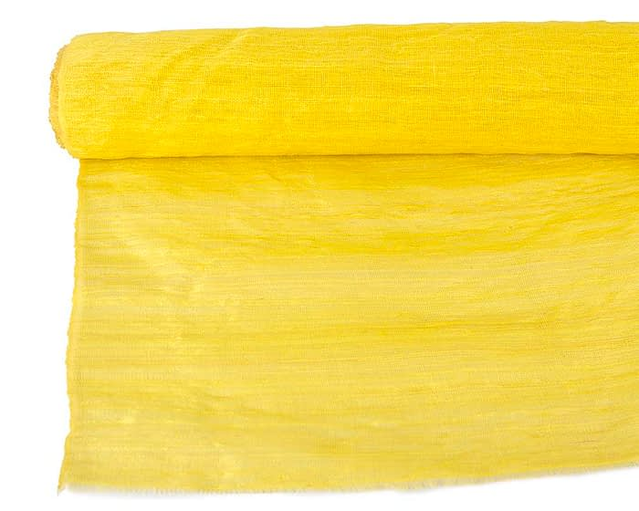 Craft & Millinery Supplies -- Trish Millinery- cotton abaca yellow