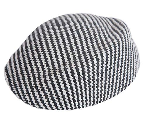 Craft & Millinery Supplies -- Trish Millinery- SH4 white black