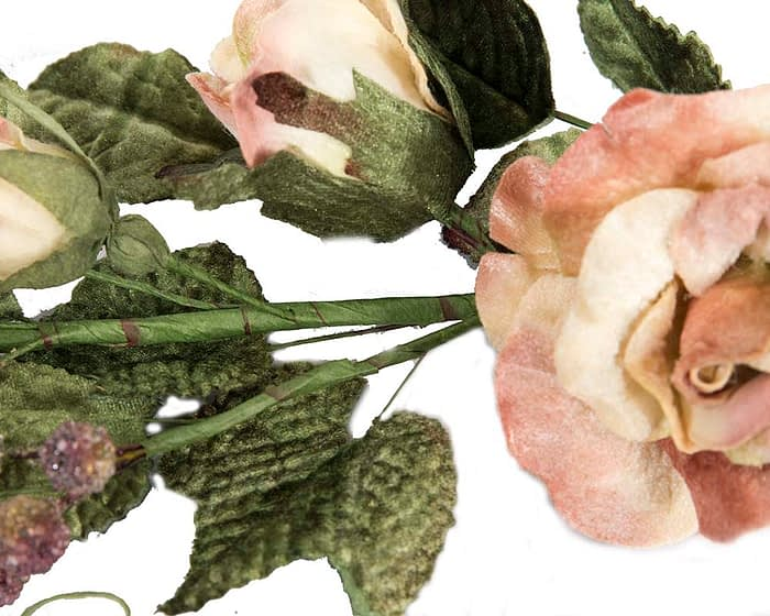 Craft & Millinery Supplies -- Trish Millinery- FL54 pink closeup