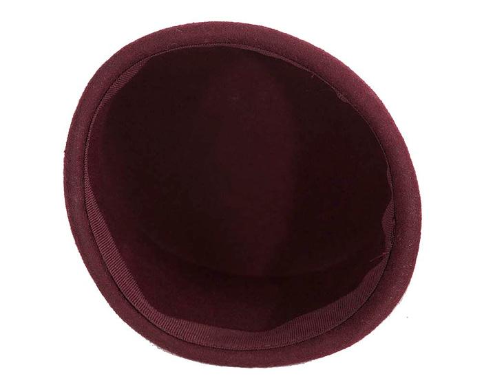 Craft & Millinery Supplies -- Trish Millinery- SH8 wine bottom