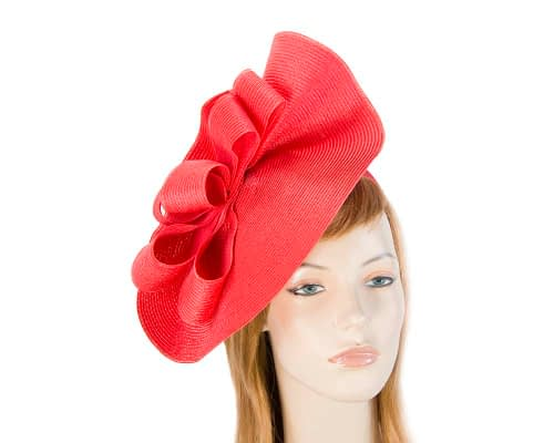 Large red plate by Max Alexander Fascinators.com.au MA811 red
