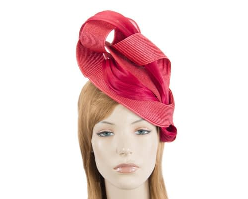 Red twists Fillies Collection fascinator Fascinators.com.au S216 red