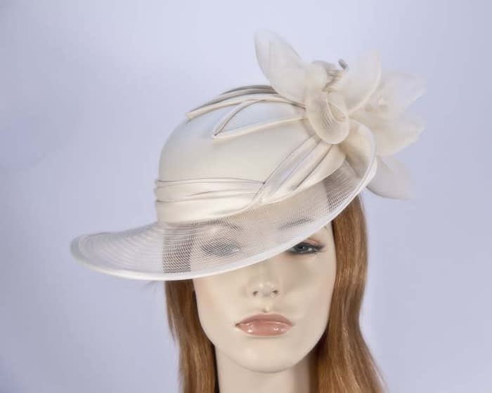 Champagne Mother of the Bride hat Fascinators.com.au