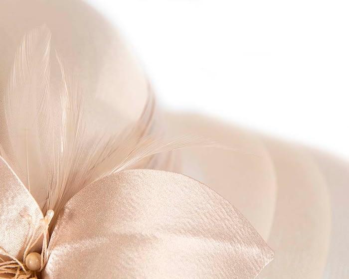 Champagne Gold fashion hat H5002FN Fascinators.com.au