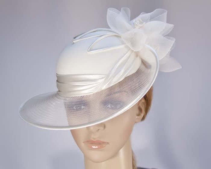 Cream Mother of the Bride hat Fascinators.com.au