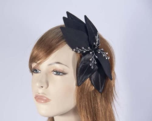 Black fascinators 4768DB Fascinators.com.au