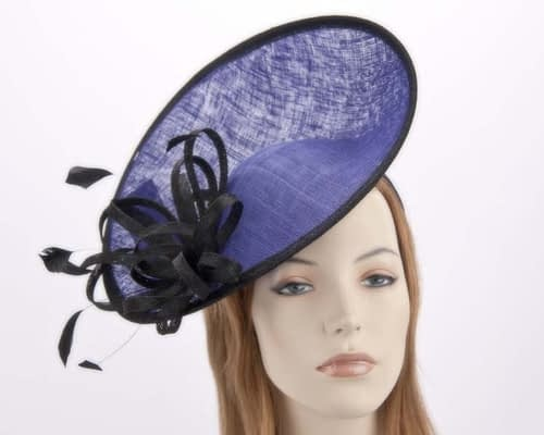 Royal blue racing Max Alexander fascinator MA634RB Fascinators.com.au