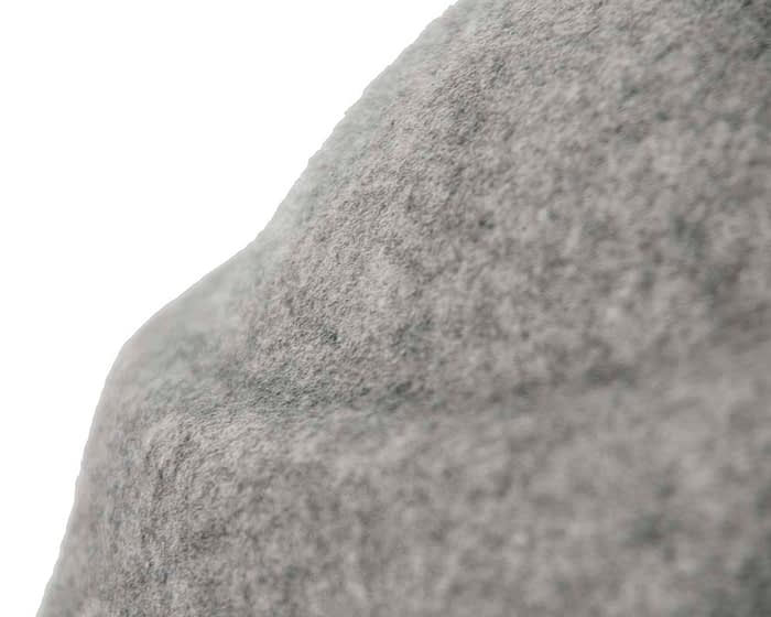 Grey marle felt hat Fascinators.com.au