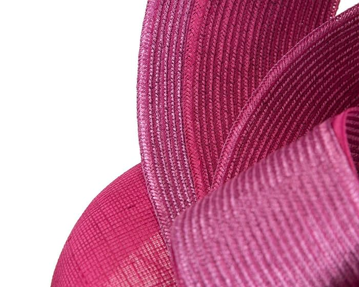 Designers fuchsia pillbox racing fascinator by Fillies Collection Fascinators.com.au