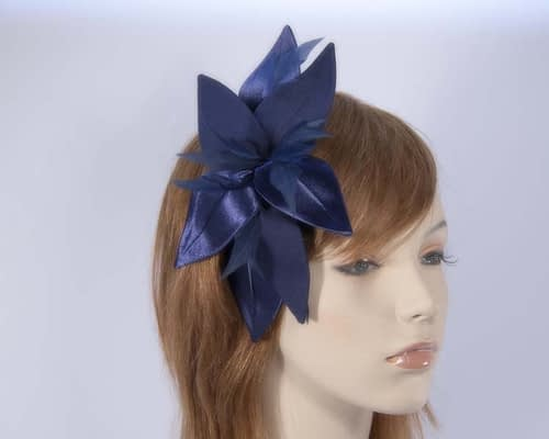 Navy fascinators 4768N Fascinators.com.au