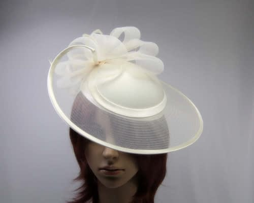 Cream fashion hats H835C Fascinators.com.au