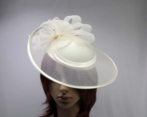 Cream fashion hats H835C Fascinators.com.au