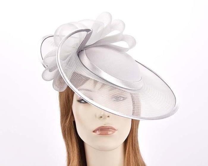 Silver fashion hats H835S Fascinators.com.au