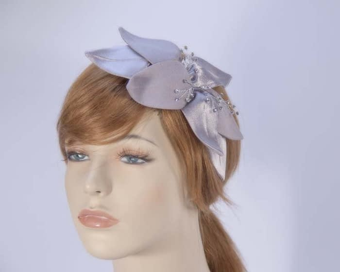 Grey fascinators 4768DGR Fascinators.com.au