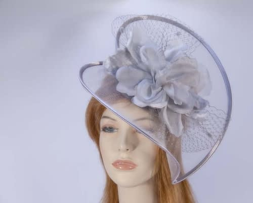 Grey Fascinator K5007GR Fascinators.com.au