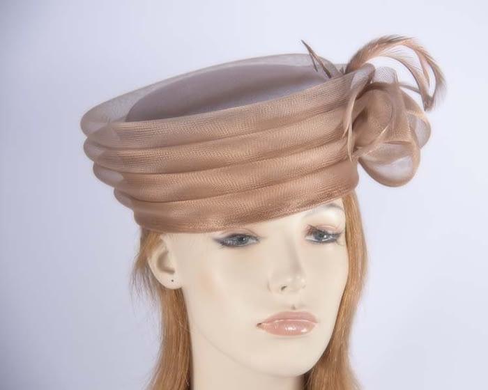 Mocca fashion hats H892MC Fascinators.com.au