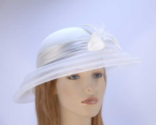 Cream fashion hat H5002C Fascinators.com.au