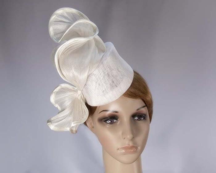 Cream fascinator hat Fascinators.com.au
